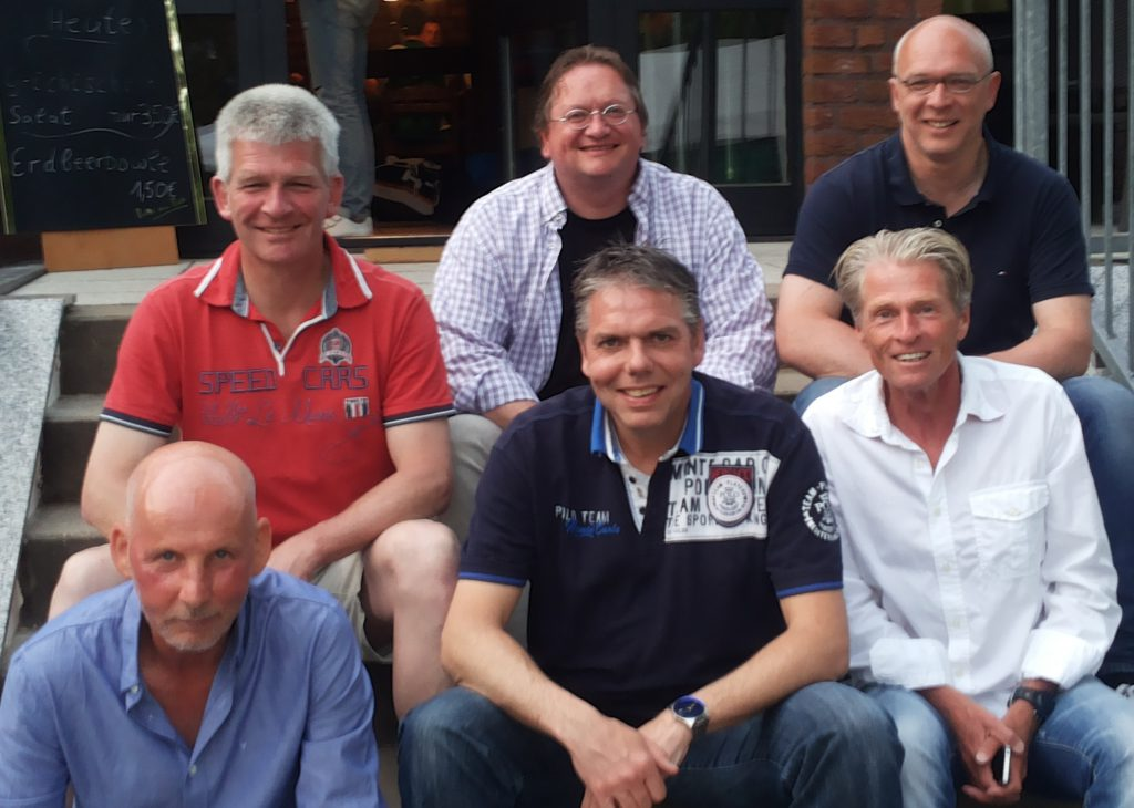Oben v.l.: Marcus Schriewer, Thomas Wulf und Ralf Thiemann. Unten v.l.: Heinrich Busold, Martin Hüls und Jörg Jansen