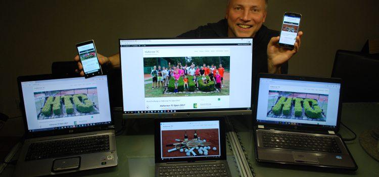 Neue HTC-Website ist online