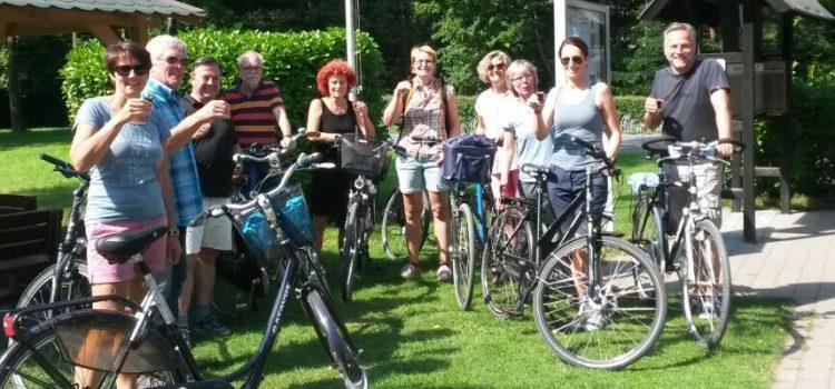 Premiere: Die erste HTC-Fahrradtour