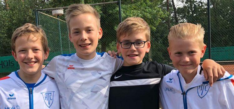 Erfolgreiche Sommersaison: Unsere Junioren U12 sind Tabellenerster