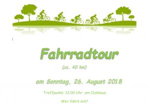 HTC-Fahrradtour @ Halterner TC | Haltern am See | Nordrhein-Westfalen | Deutschland