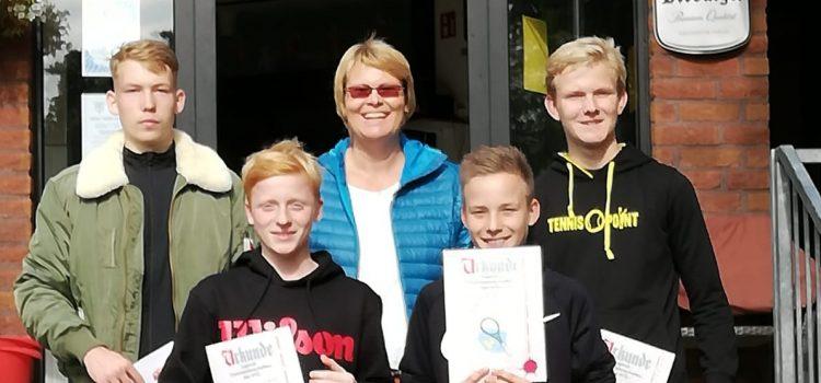 Jugendclubmeisterschaften und Eltern-Kind-Turnier
