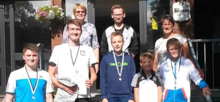 Offene Jugendstadtmeisterschaften beim Halterner TC