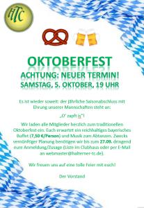 Oktoberfest @ Halterner TC | Haltern am See | Nordrhein-Westfalen | Deutschland