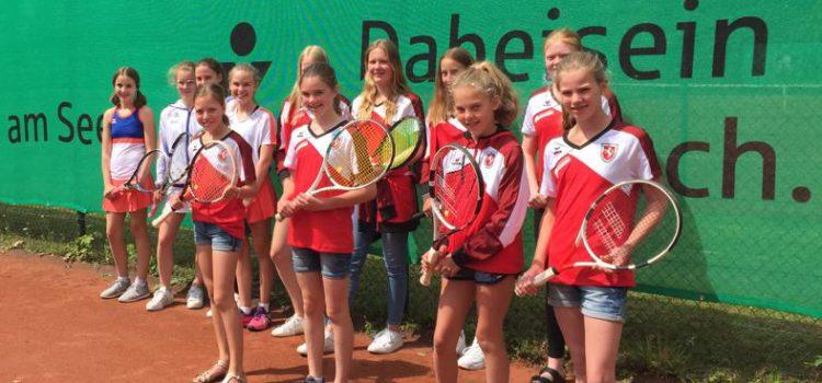 Besuch der Juniorinnen U15 aus Bad Waldliesborn