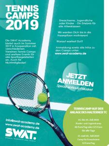 Kinder- und Jugend Tenniscamp SWAT @ Halterner TC | Haltern am See | Nordrhein-Westfalen | Deutschland