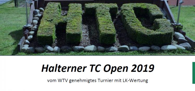 Heiße Duelle bei tropischer Hitze: Die Halterner TC Open laufen