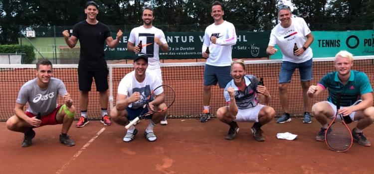 Spielbericht Herren BVH Tennis Dorsten 1 : HTC 1 – 3:6 (15.08.2020)